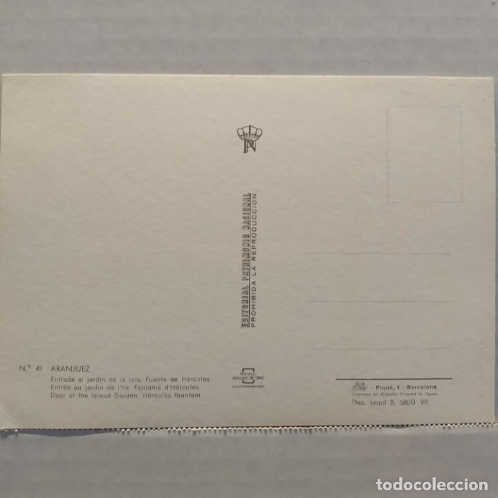 Postales: Lote de 14 postales PATRIMONIO NACIONAL, Valle de los Caídos, Escorial y Aranjuez, Escudo de Oro - Foto 17 - 209614250