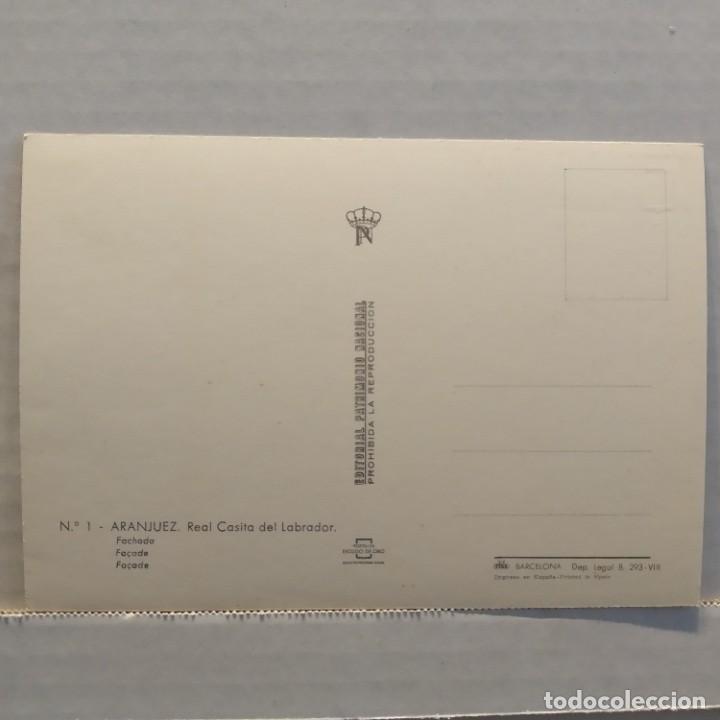 Postales: Lote de 14 postales PATRIMONIO NACIONAL, Valle de los Caídos, Escorial y Aranjuez, Escudo de Oro - Foto 23 - 209614250