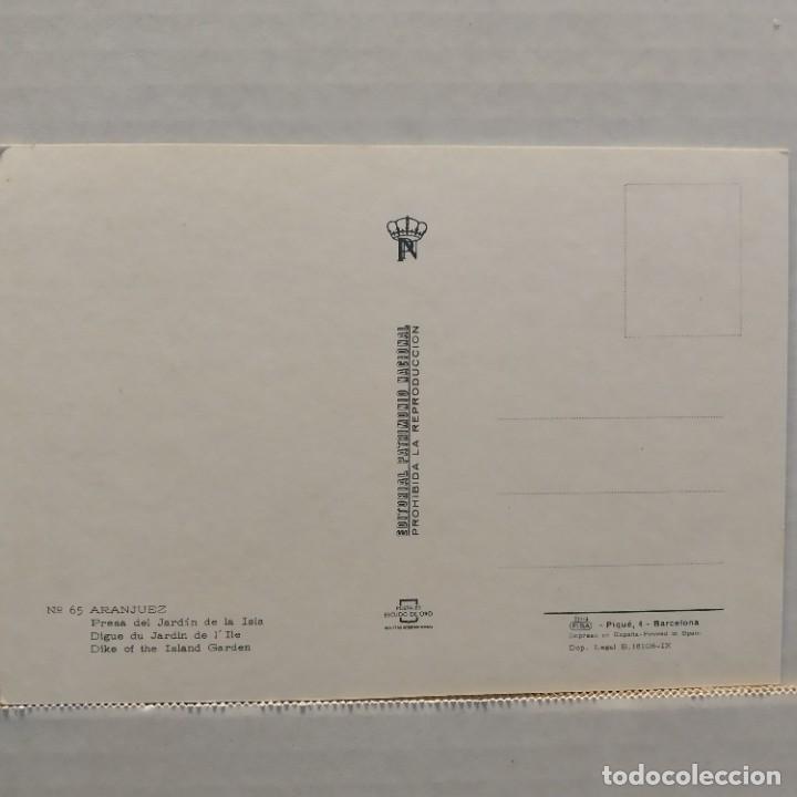 Postales: Lote de 14 postales PATRIMONIO NACIONAL, Valle de los Caídos, Escorial y Aranjuez, Escudo de Oro - Foto 25 - 209614250