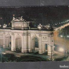 Postales: Nº 42 MADRID. PUERTA DE ALCALÁ. VISTA NOCTURNA. Lote 209960301