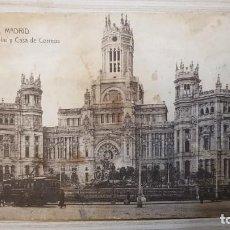 Postales: POSTAL ANTIGUA DE 1930 MADRID - 123 - PLAZA DE CASTELAR Y CASA DE CORREOS - ESCRITA. Lote 209968748