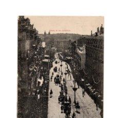 Cartoline: MADRID.- BODAS REALES. Nº 8. LA REAL COMITIVA BAJANDO POR LA CARRERA DE SAN JERÓNIMO.. Lote 210142825