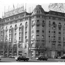 Postales: MADRID.- FOTOGRAFÍA HOTEL PALACE. Lote 210196347