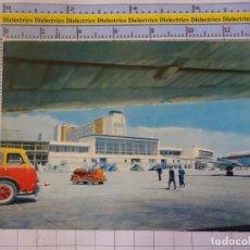 Postales: POSTAL DE MADRID. AÑO 1962. AEROPUERTO DE BARAJAS. AVIÓN IBERIA. 13 UNEXTA. 3166. Lote 210524245
