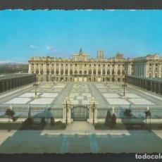 Postales: POSTAL SSIN CIRCULAR - PALACIO REAL DE MADRID - FACHADA PRINCIPAL - EDITA PATRIMONIO. Lote 210533755