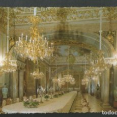 Postales: POSTAL SSIN CIRCULAR - PALACIO REAL DE MADRID - COMEDOR DE GALA - EDITA PATRIMONIO. Lote 210534188