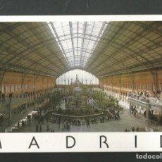 Postales: POSTAL SIN CIRCULAR - MADRID 1103 - ESTACION DE ATOCHA - EDITA EDICIONES 07. Lote 210544971