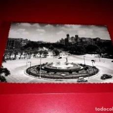 """Postales: MADRID """" PLAZA NEPTUNO Y PASEO DEL PRADO """" ESCRITA Y SELLADA 1953. Lote 210586472"""