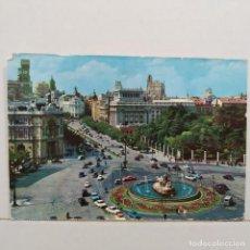 Postales: MADRID, FUENTE DE LA CIBELES Y CALLE DE ALCALÁ Nº 12 EDICIONES VISTABELLA. Lote 210593223