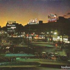 Postais: [POSTAL] PUERTA DEL SOL DE NOCHE. MADRID (SIN CIRCULAR). Lote 210761595