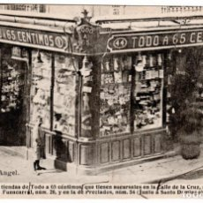 Postales: PRECIOSA POSTAL - MADRID - PLAZA DEL ANGEL - FOTOTIPIA: J. ROIG. Lote 211465875
