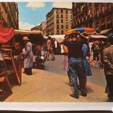 Postales: MADRID/ EL RASTRO/ SIN CIRCULAR/ (REF.D.17). Lote 211621466