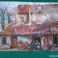 Postales: MADRID - PLAZA DE PEÑUELAS - PINTOR LUZIANO. Lote 212006385