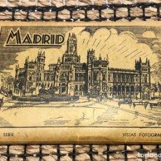 Postales: ANTIGUAS POSTALES VISTAS FOTOGRAFÍAS EDICIONES ARRIBAS MADRID - 10 VISTAS. Lote 212176828