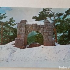Postales: NAVACERRADA MADRID FUENTE LOS GEOLOGOS POSTAL. Lote 212469833