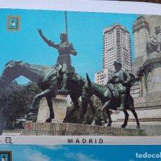 Postales: MADRID 10 FOTOS. L, DOMINGUEZ. Lote 212737816