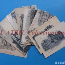 Postales: MADRID - 10 POSTALES DIFERENTES - VER FOTOS ADICIONALES. Lote 212992863