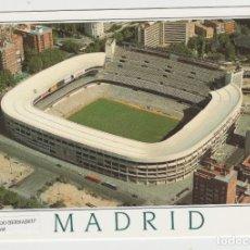 Postales: LOTE B-POSTAL CAMPO FUTBOL REAL MADRID. Lote 213165680