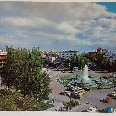 Cartes Postales: ANTIGUA POSTAL DE MADRID. PLAZA REPÚBLICA ARGENTINA, FUENTE DE LOS DELFINES. Lote 213913583