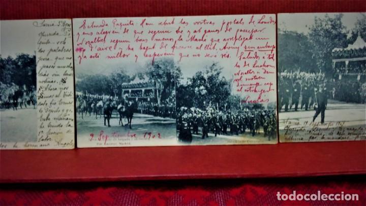 Postales: LOTE 21 POSTALES DE MADRID ENTRE LOS AÑOS 1902 A 1904.UNA DE 1911.FOT HAUSER Y MENET Y LAURENT - Foto 3 - 213930620