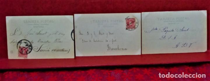 Postales: LOTE 21 POSTALES DE MADRID ENTRE LOS AÑOS 1902 A 1904.UNA DE 1911.FOT HAUSER Y MENET Y LAURENT - Foto 6 - 213930620