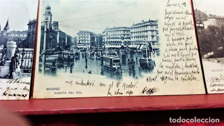Postales: LOTE 21 POSTALES DE MADRID ENTRE LOS AÑOS 1902 A 1904.UNA DE 1911.FOT HAUSER Y MENET Y LAURENT - Foto 8 - 213930620