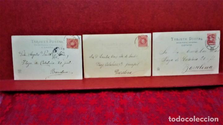 Postales: LOTE 21 POSTALES DE MADRID ENTRE LOS AÑOS 1902 A 1904.UNA DE 1911.FOT HAUSER Y MENET Y LAURENT - Foto 9 - 213930620