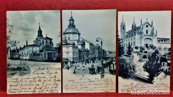 Postales: LOTE 21 POSTALES DE MADRID ENTRE LOS AÑOS 1902 A 1904.UNA DE 1911.FOT HAUSER Y MENET Y LAURENT - Foto 10 - 213930620
