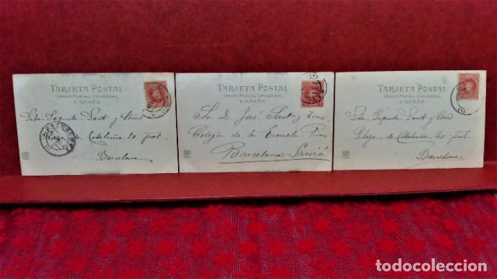 Postales: LOTE 21 POSTALES DE MADRID ENTRE LOS AÑOS 1902 A 1904.UNA DE 1911.FOT HAUSER Y MENET Y LAURENT - Foto 11 - 213930620
