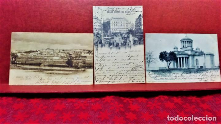 Postales: LOTE 21 POSTALES DE MADRID ENTRE LOS AÑOS 1902 A 1904.UNA DE 1911.FOT HAUSER Y MENET Y LAURENT - Foto 12 - 213930620