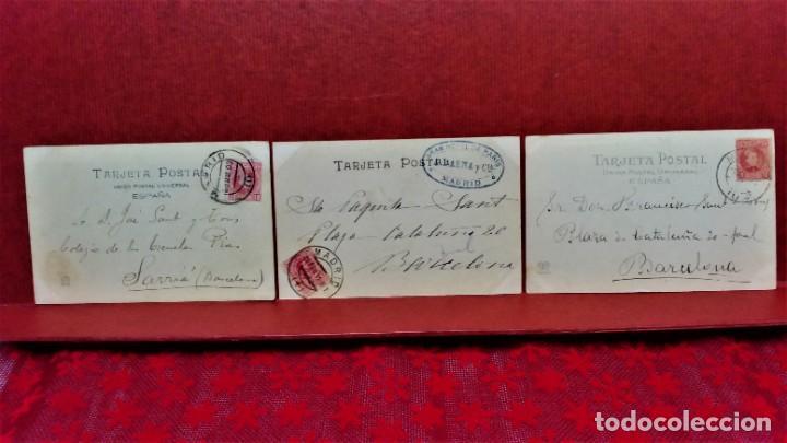Postales: LOTE 21 POSTALES DE MADRID ENTRE LOS AÑOS 1902 A 1904.UNA DE 1911.FOT HAUSER Y MENET Y LAURENT - Foto 13 - 213930620