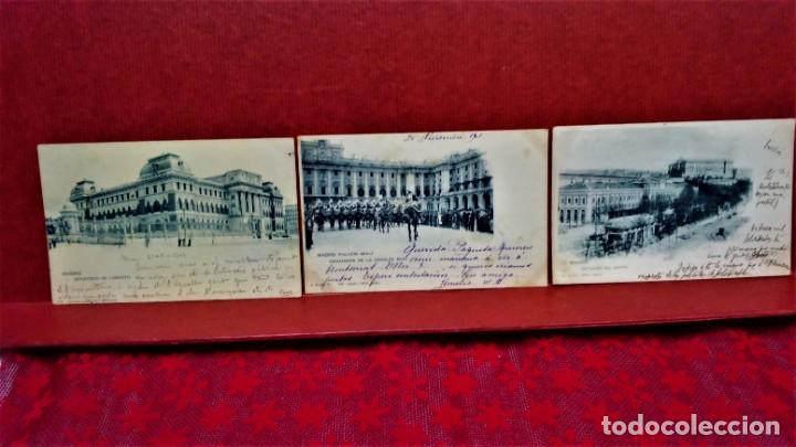 Postales: LOTE 21 POSTALES DE MADRID ENTRE LOS AÑOS 1902 A 1904.UNA DE 1911.FOT HAUSER Y MENET Y LAURENT - Foto 14 - 213930620