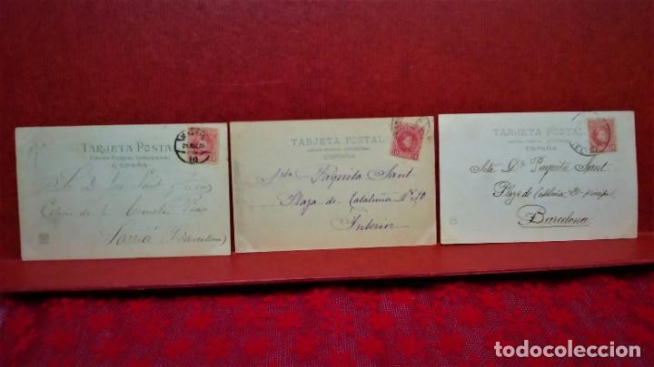 Postales: LOTE 21 POSTALES DE MADRID ENTRE LOS AÑOS 1902 A 1904.UNA DE 1911.FOT HAUSER Y MENET Y LAURENT - Foto 15 - 213930620