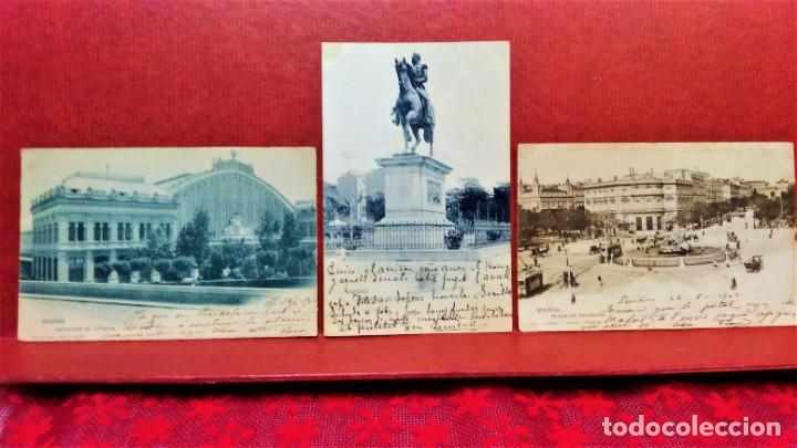 Postales: LOTE 21 POSTALES DE MADRID ENTRE LOS AÑOS 1902 A 1904.UNA DE 1911.FOT HAUSER Y MENET Y LAURENT - Foto 16 - 213930620
