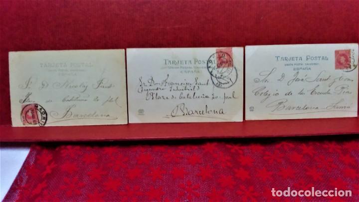 Postales: LOTE 21 POSTALES DE MADRID ENTRE LOS AÑOS 1902 A 1904.UNA DE 1911.FOT HAUSER Y MENET Y LAURENT - Foto 17 - 213930620