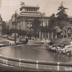 Postales: POSTAL MADRID - CIBELES Y CALLE DE ALCALA - MOLINA 59 - CIRCULADA. Lote 214163751