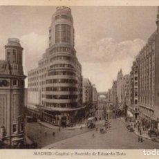 Postales: POSTAL MADRID - CAPITOL Y AVENIDA DE EDUARDO DATO - KALLMEYER Y GAUTIER. Lote 214164075