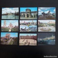 Postales: LOTE 17 POSTALES MADRID AÑOS 60-70 P432. Lote 214854233