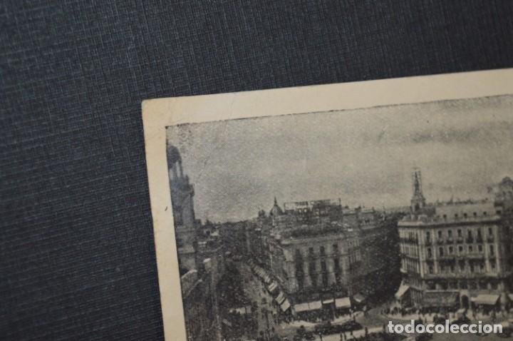 Postales: ANTIGUA / DIFÍCIL POSTAL CIRCULADA - MADRID / HOTE AMERICANO - Puerta del Sol Nº 11 / Octubre 1957 - Foto 3 - 214898116