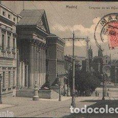 Cartoline: ANTIGUA POSTAL MADRID CONGRESO DE LOS DIPUTADOS OLD POSTCARD POSTKARTE CC00761. Lote 215216101