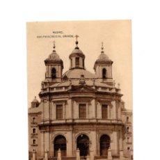 Cartoline: MADRID.- IGLESIA DE SAN FRANCISCO EL GRANDE.. Lote 215628377