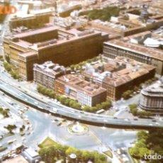 Cartes Postales: MADRID. 2083 PLAZA DEL EMPERADOR CARLOS V. VISTA AÉREA. COLECCIÓN PERLA. NUEVA. COLOR. Lote 215707406