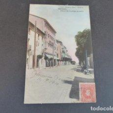 Postales: EL ESCORIAL MADRID CALLE DE FLORIDA BLANCA HAUSER Y MENET SIN DIVIDIR ILUMINADA. Lote 215980936