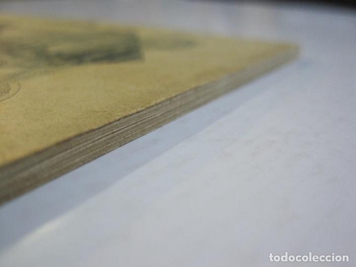 Postales: MADRID-VISTAS COMPLETAS DE ESPAÑA-BLOC CON VISTAS DIBUJADAS-VER FOTOS-(K-38) - Foto 3 - 216609393