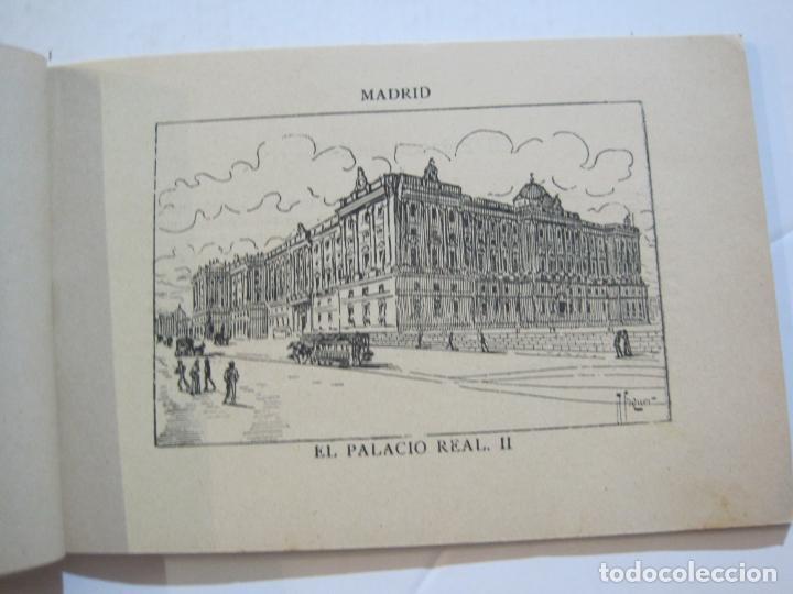 Postales: MADRID-VISTAS COMPLETAS DE ESPAÑA-BLOC CON VISTAS DIBUJADAS-VER FOTOS-(K-38) - Foto 10 - 216609393
