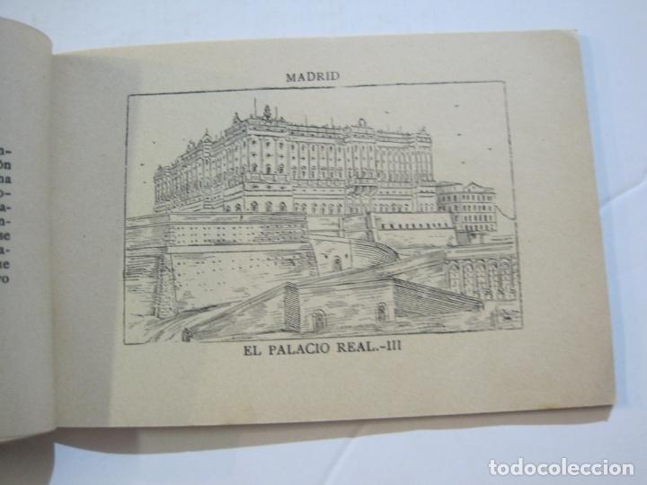 Postales: MADRID-VISTAS COMPLETAS DE ESPAÑA-BLOC CON VISTAS DIBUJADAS-VER FOTOS-(K-38) - Foto 11 - 216609393