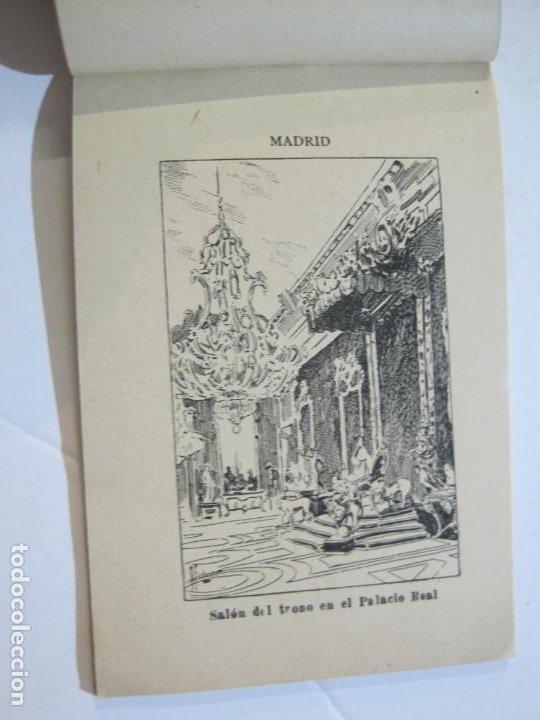 Postales: MADRID-VISTAS COMPLETAS DE ESPAÑA-BLOC CON VISTAS DIBUJADAS-VER FOTOS-(K-38) - Foto 12 - 216609393