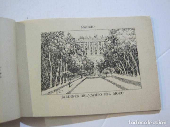 Postales: MADRID-VISTAS COMPLETAS DE ESPAÑA-BLOC CON VISTAS DIBUJADAS-VER FOTOS-(K-38) - Foto 13 - 216609393