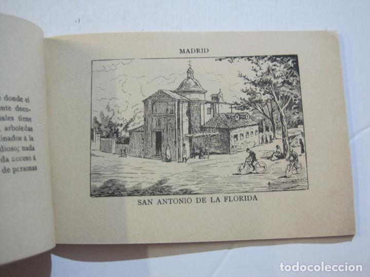 Postales: MADRID-VISTAS COMPLETAS DE ESPAÑA-BLOC CON VISTAS DIBUJADAS-VER FOTOS-(K-38) - Foto 14 - 216609393