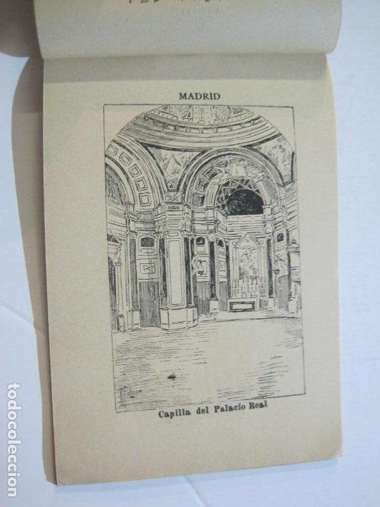 Postales: MADRID-VISTAS COMPLETAS DE ESPAÑA-BLOC CON VISTAS DIBUJADAS-VER FOTOS-(K-38) - Foto 15 - 216609393